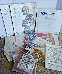 Creative Memories 25+ Piece Lot Scrapbooks Albums, Refill Pages, Carrying Case