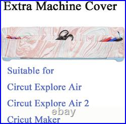 Cricut Explore Air Carrying Case Bag Holder Supplies Machine Storage Tote Large