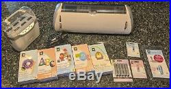 Cricut Expression 24 LOT 5 CARTRIDGES, JUKEBOX, EXTRA BLADES, CARRYING CASE