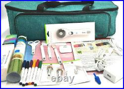 Cricut Maker Machine Rose with Carry Case and Many Accessories Free Shipping