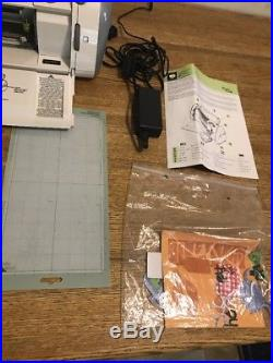 Cricut Personal Electronic Cutting Machine Model CRV001 Carrying Case And More