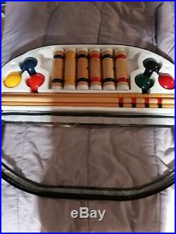 Croquet Set 6 Player Outdoor Game with Carrying Case Brand New Sport Craft