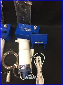 DUEL CONWIN BALLOON BULB SET Inflator Carry Case Excellent Condition