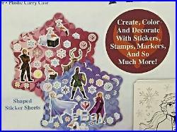 Disney Frozen 2 Jumbo Art Beauty Craft Activity Set 500 Piece Carrying Case Gift