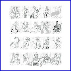 Disney Frozen 2 Jumbo Art Craft Activity Set 500 Piece Carrying Case. NEW Fast