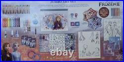 Disney Frozen II Jumbo Art Craft Activity Set 500 Piece Carrying Case
