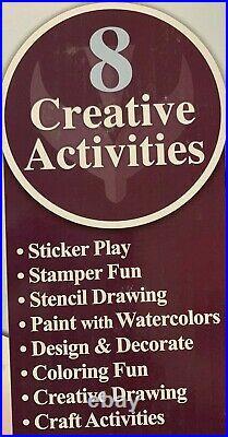 Disney, Kids' Giant Art Craft Activity Set Carrying Case (Choose Theme)