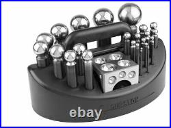 Durston 26 Piece Doming Set Including Block And Carry Case