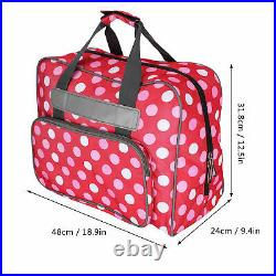 Dustproof Sewing Machine Bag Durable Sewing Carrying Case Large Capacity
