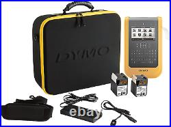 Dymo XTL 500 Label Maker Kit QWERTY Keyboard UK/IRE Version with Carry case and