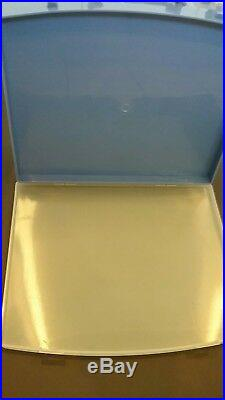 EA-ZY punch W 27 & Plastic Carrying Blue Case Craft/Art 1 upper case letters
