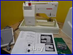 ESTATE BERNINA 1080 SPECIAL SEWING MACHINE with FOOT PEDAL & CARRY CASE U TUBE