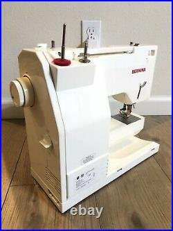 EUC Bernina 1008 sewing machine Withmanual And Carry Case Foot Pedal Tested READ