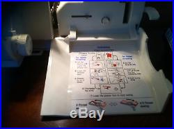 Eclipse Baby Lock Model BLE 1 Sewing Machine Serger with Carrying Case