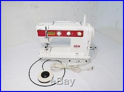 Elna Jubilee Sewing Machine with Carrying Case Excellent Condition