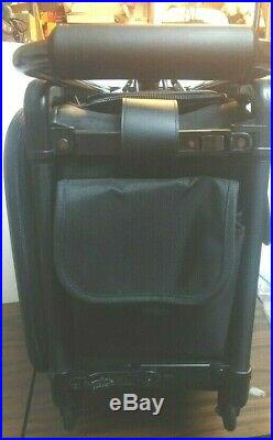 Excellent Condition Black Collapsible Tutto Office on Wheels Case or Carry On