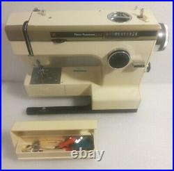 Frister & Rossmann Cub 7 370 Sewing Machine with Carry Case, pedal accessories