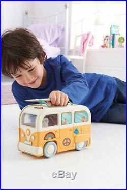 Fuzzikins Craft Camper Van Cats Carrying Case Design Your Own Kitty Friends