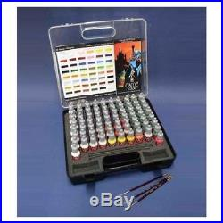 Game Color Box Set (72 colours + 3 brushes + carry case)- VAL72172