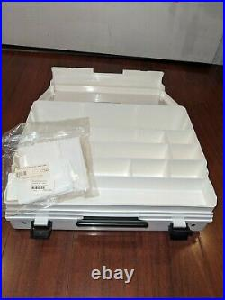 Genuine Vintage Bernina Accessory Storage Box Carry Case. With New Dividers