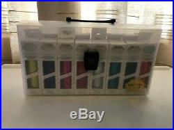 Go Press & Foil Pack Set of 16 x 5m Heat Activated Foils in Custom Carry Case
