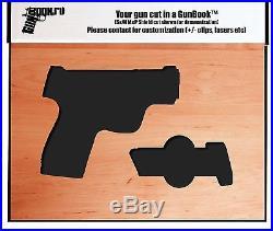 GunBook for Springfield Armory 1911 Range Officer hidden carry box safe case