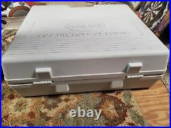 HARD STORAGE CARRY CASE ONLY! Baby Lock Ellisimo Gold Sewing Embroidery Machine