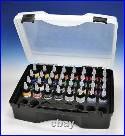 Hansa pro-Color Kit 28 Airbrush Paint IN Carry Case (67100)