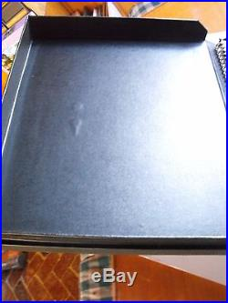 Hard Cover Snap Closure Artist Portfolio Carry Case 15 Double 11 x 17 Sleeves