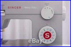 Heavy Duty 4423 Sewing Machine Extra-High Sewing Speed with Metal Frame