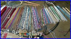 Huge Lot Vintage Knitting Needles Crochet Hooks Circular Carry Case 5lb Box Full