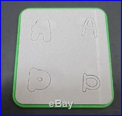 Huge Lot of Sizzix Dies Adapters Carrying Case Cutting Plates