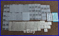 Huge lot of Cuttlebug embossing folders, dies and carry case