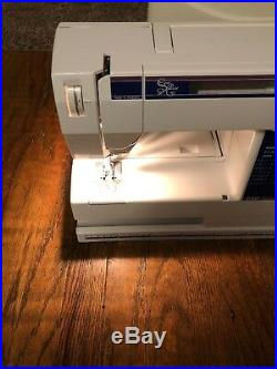 Husqvarna Viking 230 Lisa Sewing Machine -Sew Easy With Carrying Case And Manuel