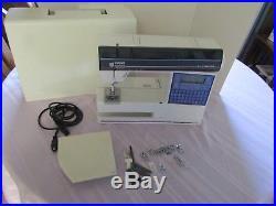 Husqvarna Viking 500 Computer Quilting Sewing Machine, Carrying Case, 12 Feet