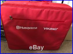 Husqvarna Viking Embroidery Arm with Carrying Case