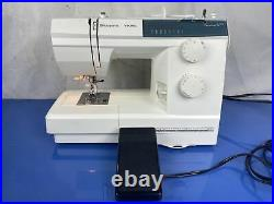 Husqvarna Viking Emerald 116 Mechanical Sewing Machine with Pedal & Cover