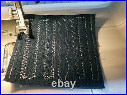 Husqvarna Viking Emerald 116 Sewing Machine In Perfect Condition