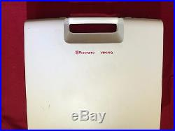 Husqvarna-Viking-Quilt-Designer I or 2 Embroidery Module with Carrying Case