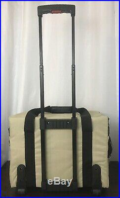 Husqvarna Viking Sewing Machine Case Rolling Bag Wheeled Portable Carry Storage
