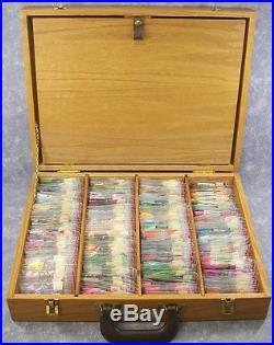 Idle Time Floss Carrying CaseOrganizerOver 375 Skeins Different Color Floss