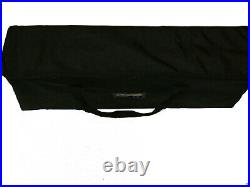 Innovate Collapsible 10-Tier Magazine Rack withCarry Case Great for Trade Shows