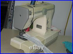 Janome Combi DX Plain Sewing, Overlocker 2 In 1 Sewing Machine, Carry Case, Japan