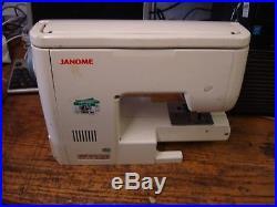 Janome 6260 QC Sewing Machine & Hard Carry Case DAN21 D603