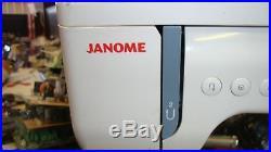Janome 6260 QC Sewing machine & Hard carry case LOL19