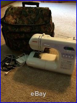 Janome Dc3050 Computerized Sewing Machine With Carrying Case
