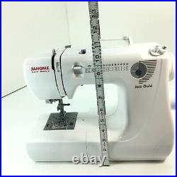 Janome Jem Gold 660 Mechanical Sewing and Quilting Machine withBox No Accessories