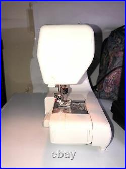 Janome Jem Gold 660 Sewing Machine Foot Pedal And Bag