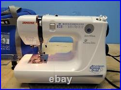 Janome Jem Silver 662 with Accessories & Carry Case