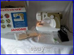 Janome Sewing Machine Model 3125 Works WithCarrying Case, Cover, Instructions Acc